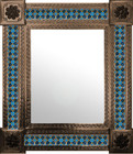 mexican mirror classic colonial frame