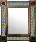 mexican mirror colonial hacienda frame