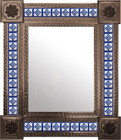 mexican mirror with rustica frame