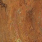 rusted iron chandelier