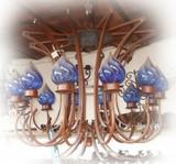 hacienda iron chandelier