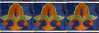 talavera tiles terra cotta green blue