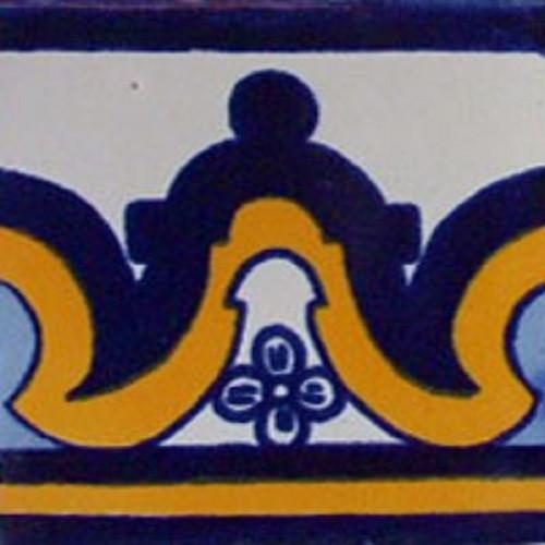 artisan made talavera tile rustic