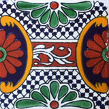 hand crafted talavera tile old European