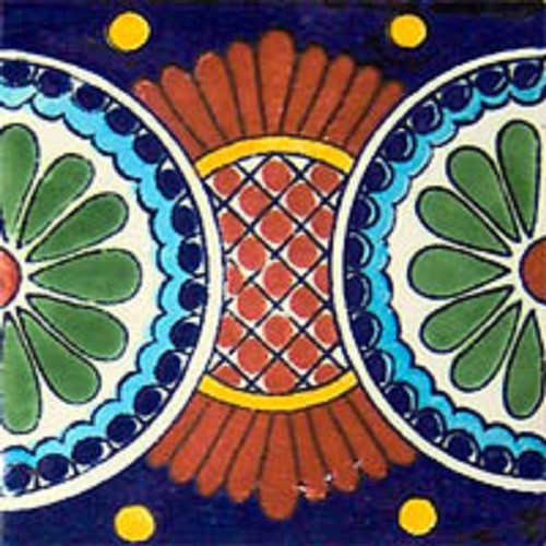 talavera tile colonial