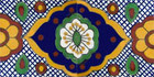 hand painted talavera tiles Arabic