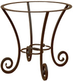 Southern forged iron table base