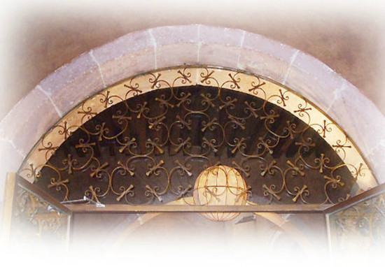 forged iron window guards