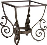 Spanish forged iron table base