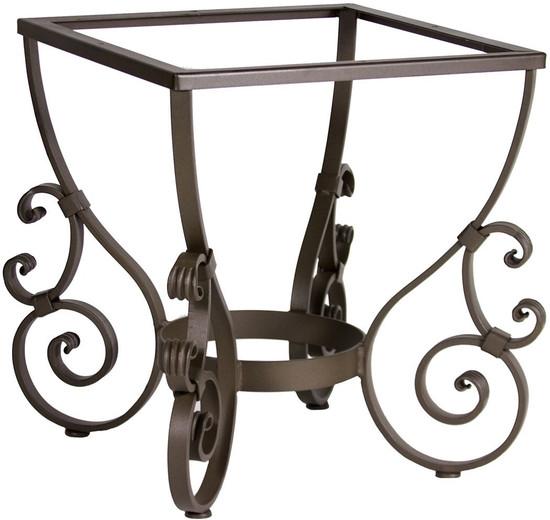 Spanish forged iron table base