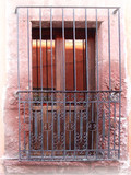 old world forged iron window guards