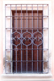 Mediterranean forged iron window guards