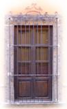 Spanish forged iron window guards