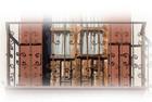 old world forged iron balcony