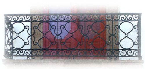 Mexican forged iron balcony