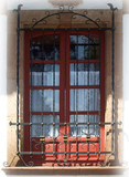 traditional forged iron window guards