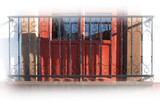 beauty forged iron balcony