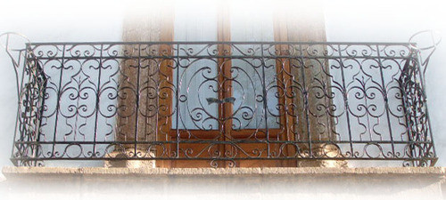 flair forged iron balcony