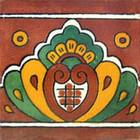 talavera tile hand decorated