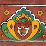talavera tile hand decorated