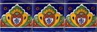 artisan made talavera tiles from Mexico