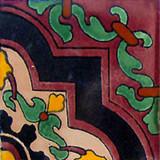Moorish Mexican tile black