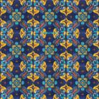 old European Mexican tiles yellow white