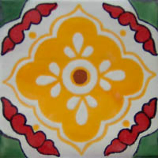 Southern Mexican tile yellow