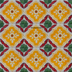 southern Mexican tiles yellow