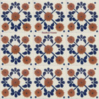 folk art Mexican tiles terracotta