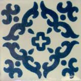 Mediterranean Mexican tile blue