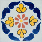 Southern Mexican tile blue
