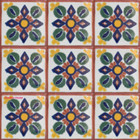 Mediterranean Mexican tiles terracotta