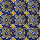 old European Mexican tiles yellow