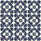 Mexican tiles dark blue white