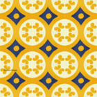 Mexican tiles yellow blue