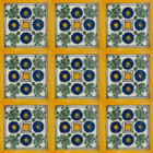 Mexican tiles Moorish