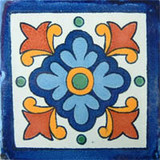 Mexican tile hand made