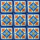 Mexican tiles hand made