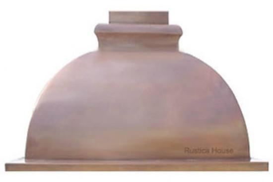 copper kitchen range hood