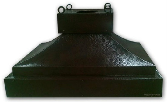 colonial copper range hood