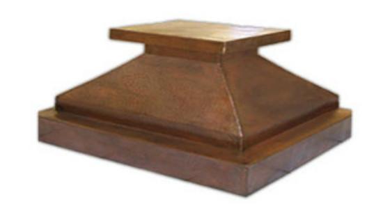 rustic hood copper