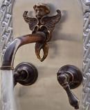 Guanajuato bath wall bronze faucet