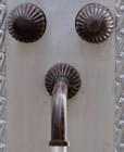 Spanish bath wall bronze faucet