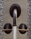 French bath wall bronze faucet