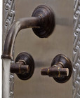 wall mount bath colonial bronze faucet