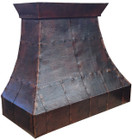copper range hood vent