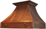 kitchen vent hood copper