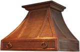 kitchen vent hood copper