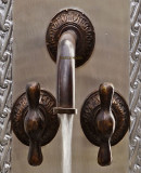 old world bath wall bronze faucet
